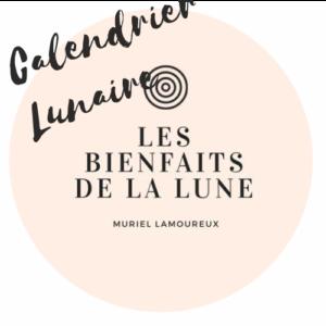 Calendrier Lunaire 2020 - Muriel Lamoureux